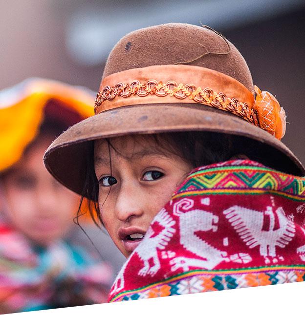 Andean children/Yanapana work