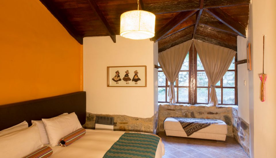 Colpa Lodge -- double guest room
