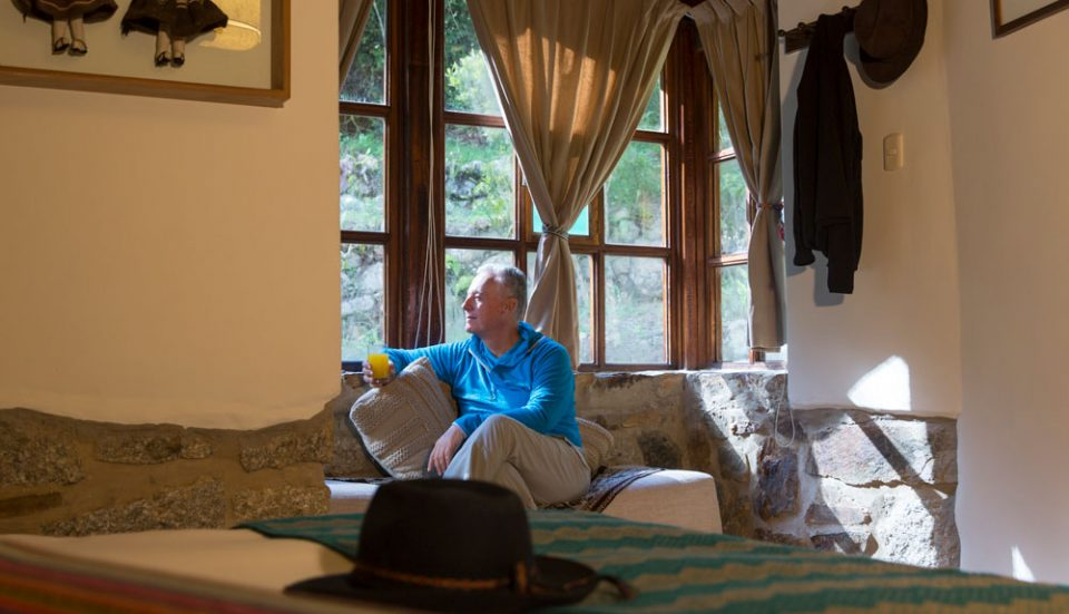 Relax Moment In a comfortable room at Colpa Lodge