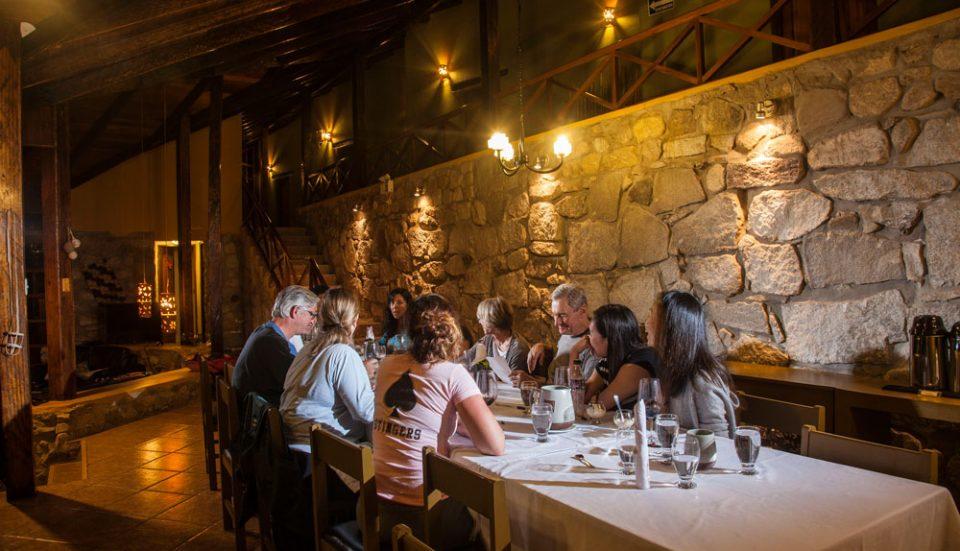 Dinner at Lucma Lodge