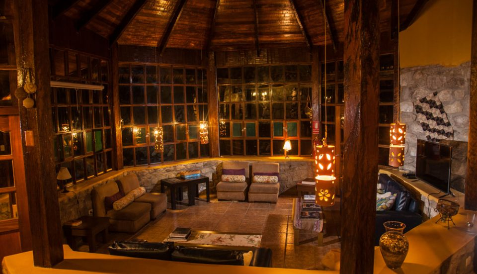 The inviting treehouse feel of Lucma Lodge